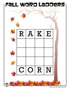Rake to Corn Word Ladder