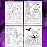 Halloween Hidden Pictures Printables