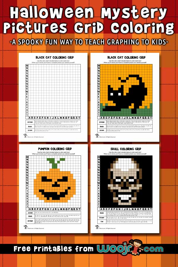 halloween mystery pictures printable worksheets
