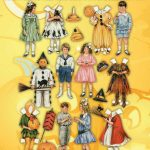 Vintage Halloween Paper Dolls – Free Printable Betty Bonnet