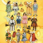 Vintage Halloween Paper Dolls – Free Printable Betty Bonnet