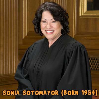 SONIA SOTOMAYOR (born 1954)