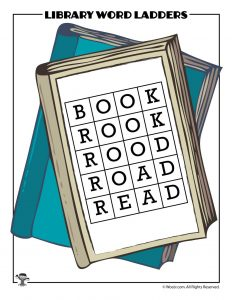 BOOK to READ Word Ladder ANSWER KEY
