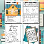 Printable Library Activities – Coloring Pages, Word Puzzles, & Hidden Pictures