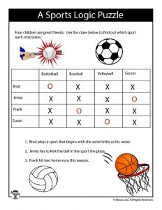 Printable Logic Puzzles for Kids | Woo! Jr  Kids Activities