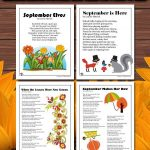 Printable September Poems for Kids