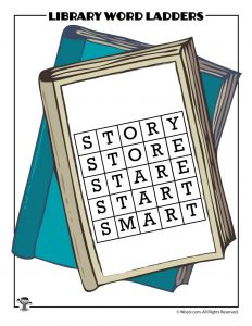 STORY to SMART Word Ladder ANSWER KEY