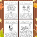 Thanksgiving Hidden Pictures Printables