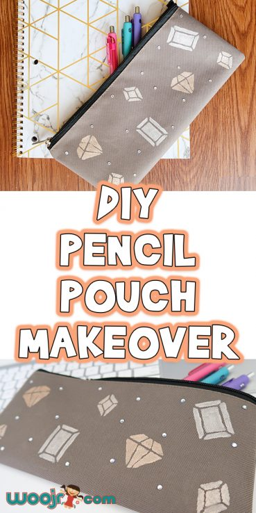 DIY Pencil Pouch Makeover