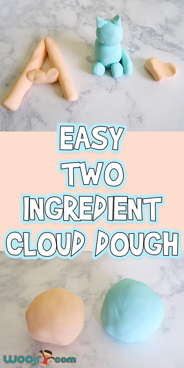 Easy 2 Ingredient Cloud Dough | Woo! Jr. Kids Activities - Diy Crafts