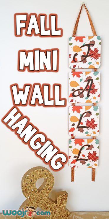 Fall Mini Wall Hanging