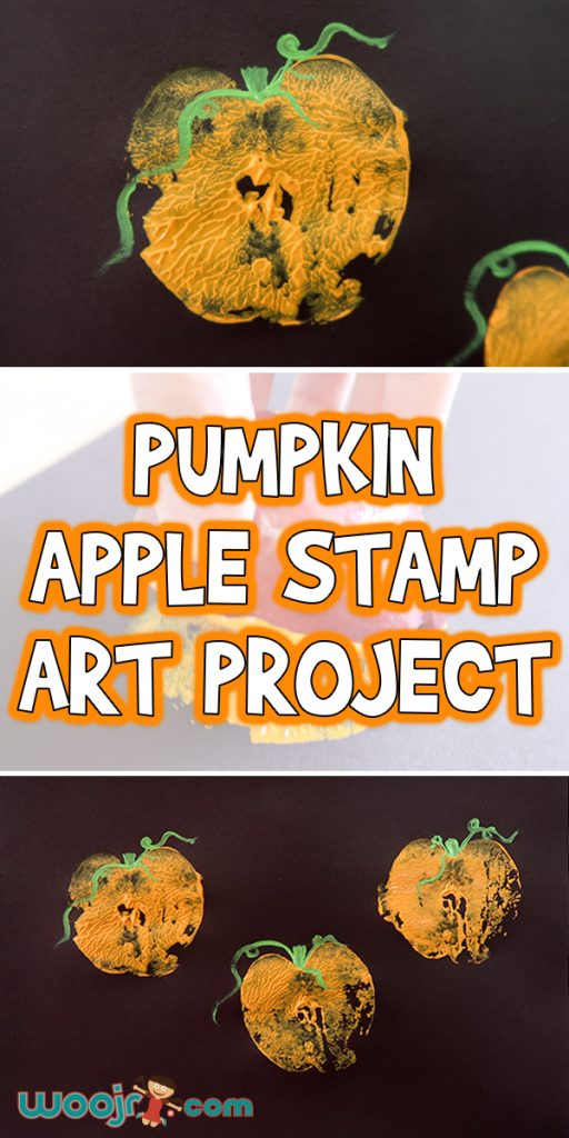Pumpkin Apple Stamp Art Project