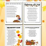 Fall Kids Poems to Print