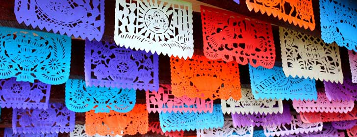 Mexican Folk Art Day of the Dead Craft: Papel Picado