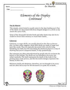 Dia de los Muertos Ofrenda Display Part 2