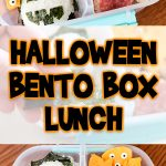 Halloween Bento Box Lunch