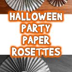 Halloween Party Paper Rosettes