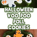 Halloween VooDoo Doll Cookies