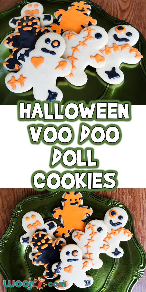 Halloween VooDoo Doll Cookies