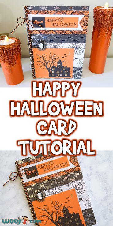 Happy Halloween Card Tutorial