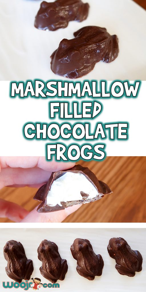 Marshmallow Filled Chocolate Frogs