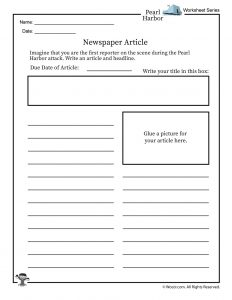 Pearl Harbor For Kids Lesson Plan And Worksheets Woo Jr Kids Activities