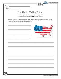 Pearl Harbor Writing Prompt