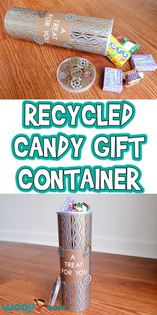11-Recycled Candy Gift Container