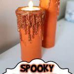Spooky Halloween Candles Tutorial