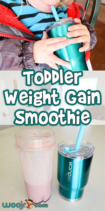 Toddler Weight Gain Smoothie Recipe