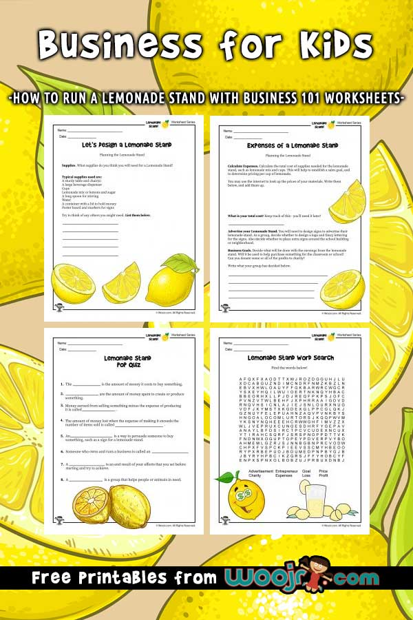 Lemonade Stand Business for Kids