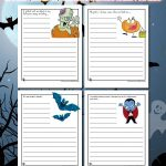 Printable Halloween Story Starters for Kids