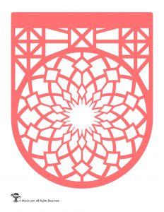 Papel Picado Banner Pink