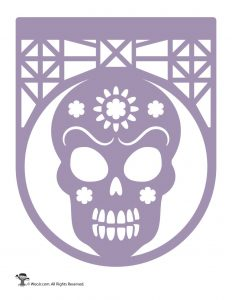 Day of the Dead Banner Papel Picado