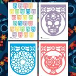 Printable Papel Picado Letters and Banners