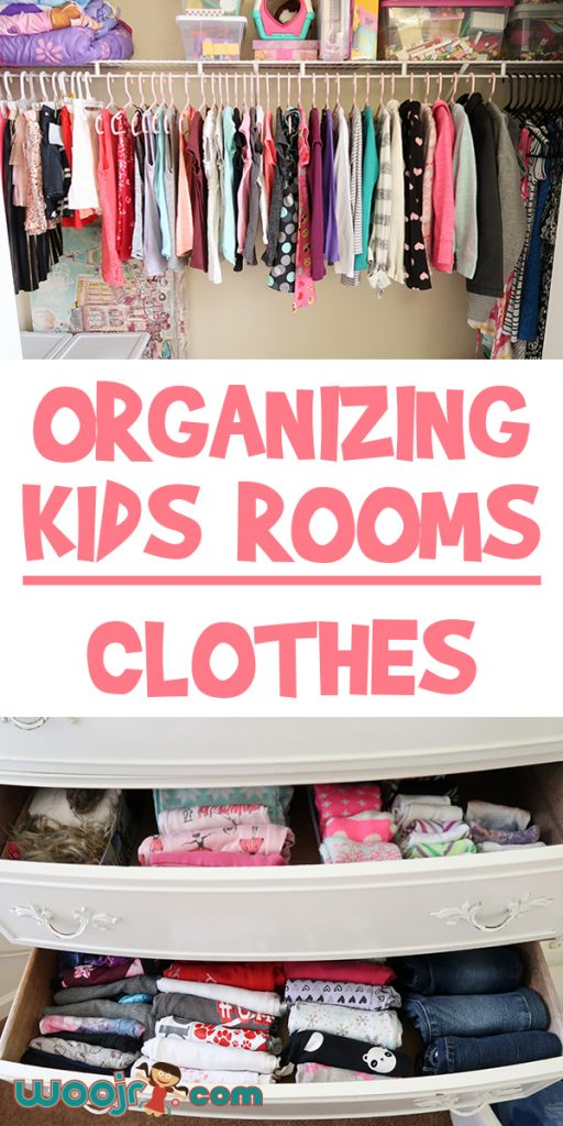 Organizing Kids Rooms | Clothes