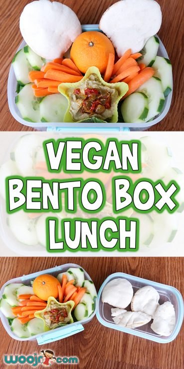 Vegan Bento Box Lunch