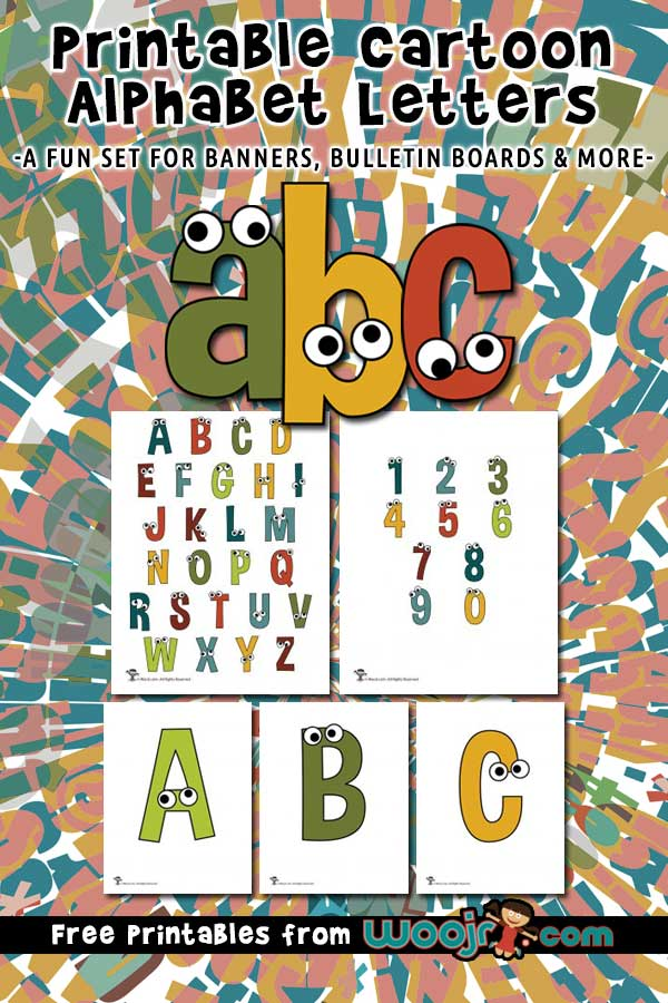 printable cartoon letters woo jr kids activities printable cartoon letters woo jr