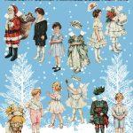 Vintage Christmas Paper Dolls – Betty Bonnet's Christmas Party