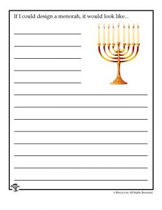 If I could design a menorah, it would look like...