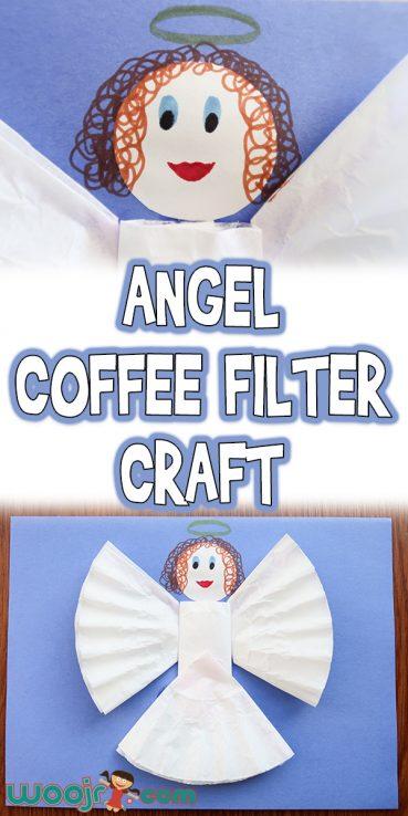 Angel Coffee Filter Craft