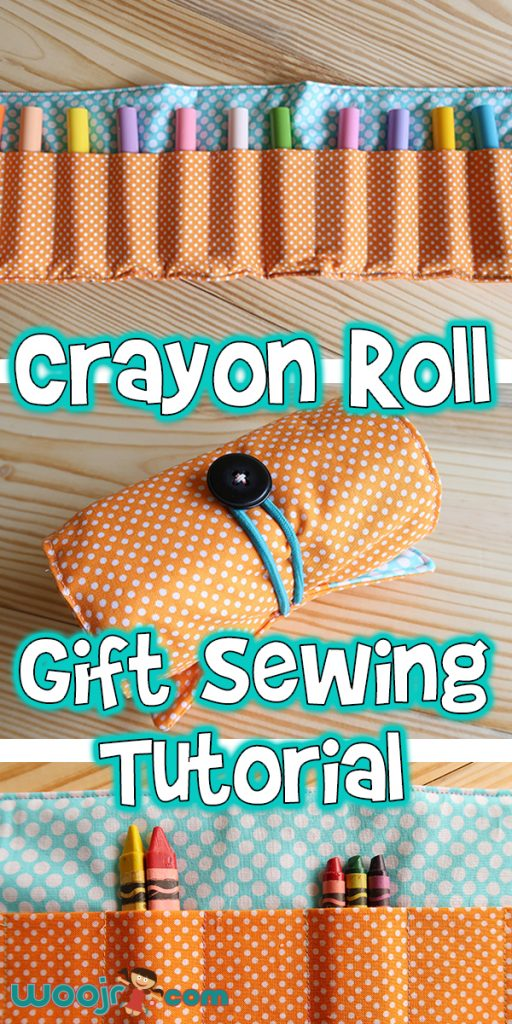 Crayon Roll Gift Sewing Tutorial