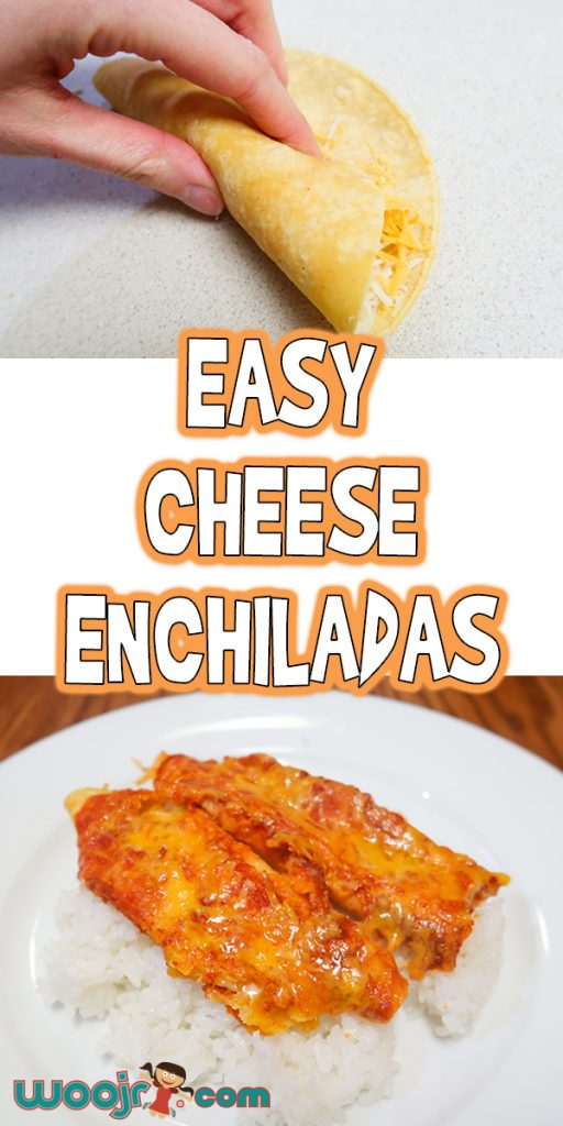 Easy Cheese Enchiladas | Weeknight Dinner