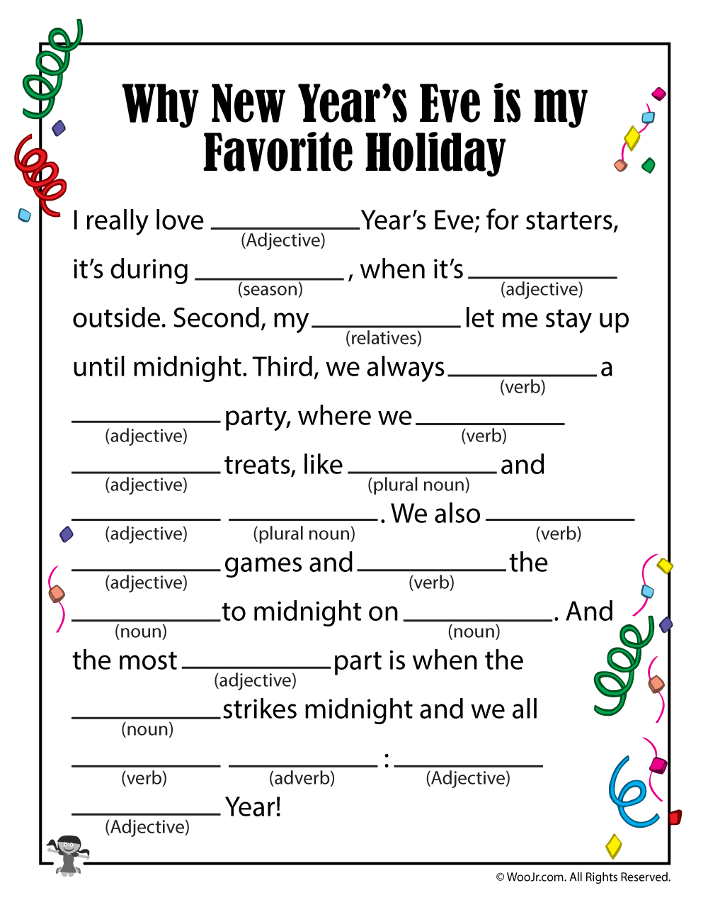 new years eve holiday mad lib woo jr kids activities
