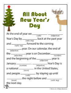 All About New Year's Day Adlibs