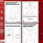 Christmas Cutting and Tracing Activity Pages