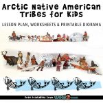 Arctic Native American Tribes for Kids