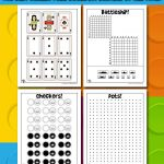 Old School Printable Games