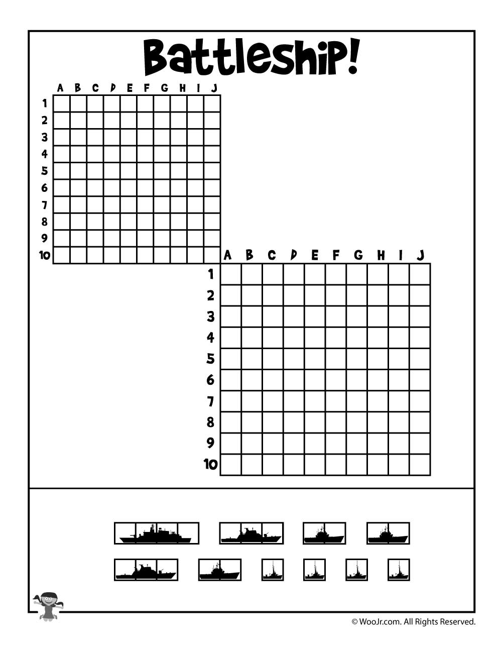 Nifty image for battleship printable