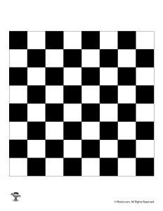 Printable Chess Board / Checkers Board